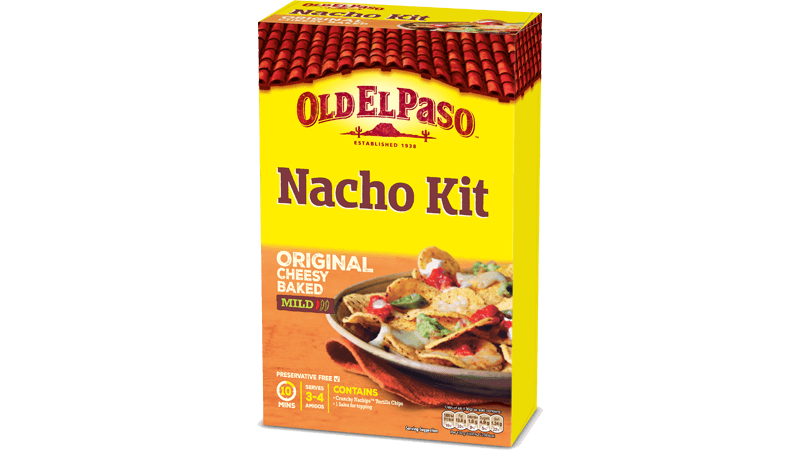 original cheesy baked nacho kit