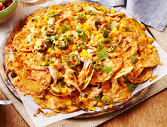 Easy Chicken Fifteen Minute Nachos