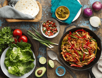 bbq-chicken-fajitas