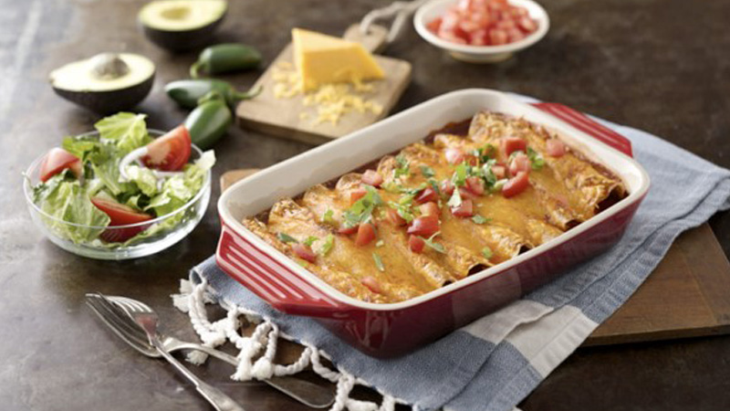 How to make enchiladas