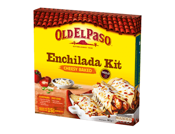 cheesy baked enchiladas dinner kit mobile