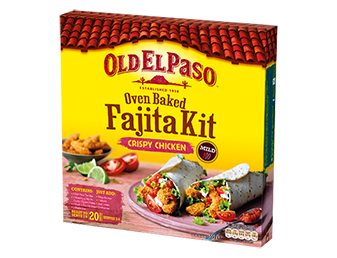 crispy chicken fajita kit