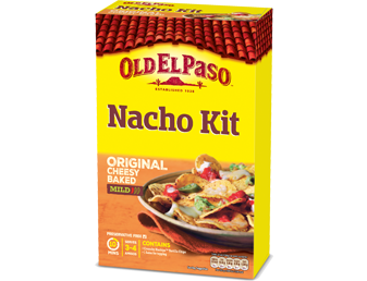 original cheesy baked nacho kit mild