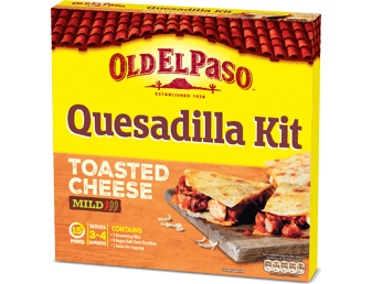 toasted cheese quesadilla
