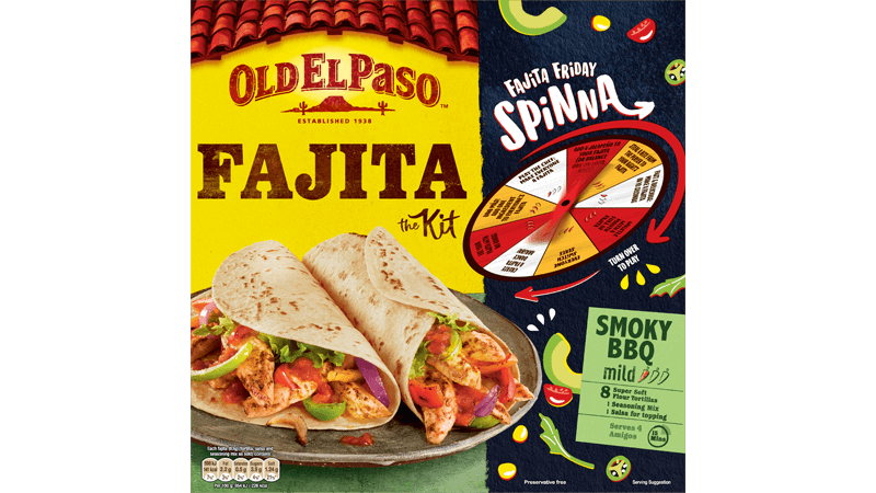 Fajita Kit Smoky BBQ Mild