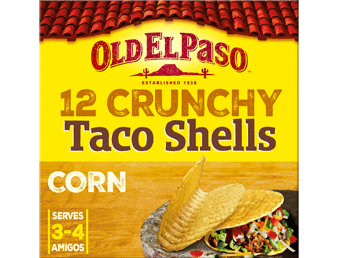 12 original hard shell tacos