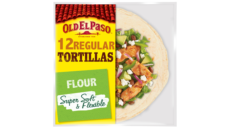 super soft flexible flour twelve regular tortillas