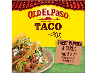 Sweet Paprika Garlic Mild Taco Kit