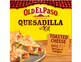 Toasted Cheese Mild Quesadilla The Kit