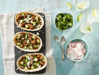 beef-and-avocado-whole-wheat-tacos