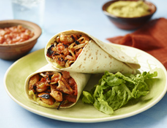 Char-Grilled Chicken Fajitas