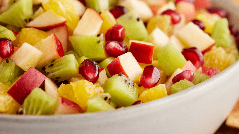 Christmas Fruit Salsa