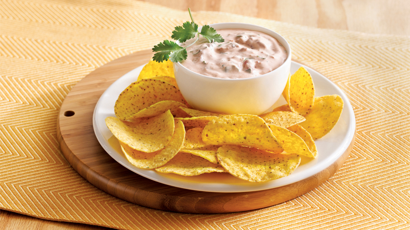 Creamy Salsa Dip Mexican Side Dishes Old El Paso