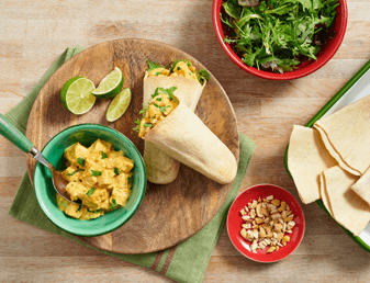 Curried Chicken Salad Pockets