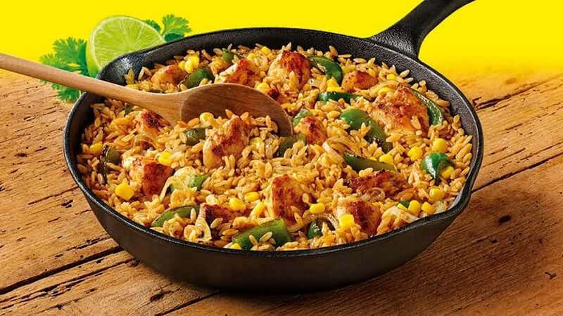 One Pan Rice Meal Mexican Recipes Old El Paso