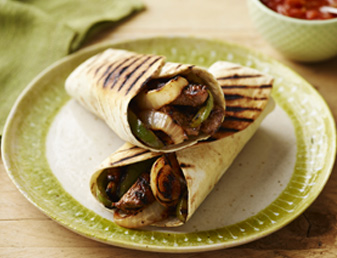 Griddled Beef Fajitas