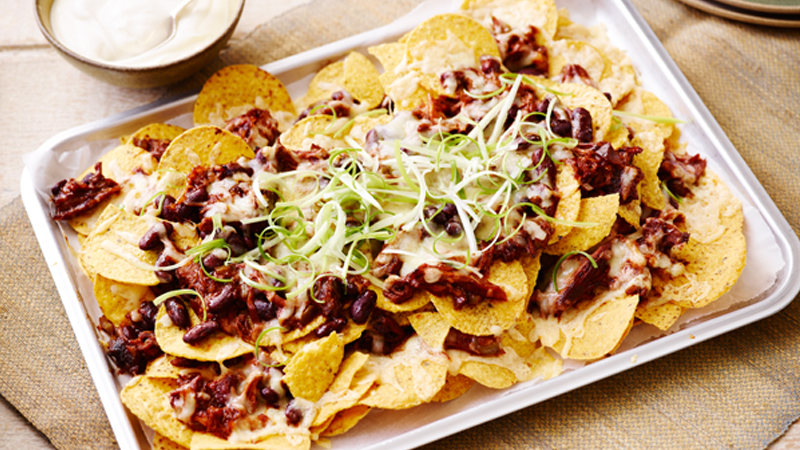Kansas City BBQ Nachos