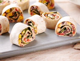 Mexican Vegetable Roll Ups