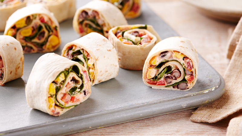Vegetable Roll Ups Mexican Side Dishes Old El Paso