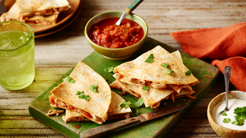 Quesadilla dinner kit mexican food old el paso quick chicken quesadillas forumfinder Gallery