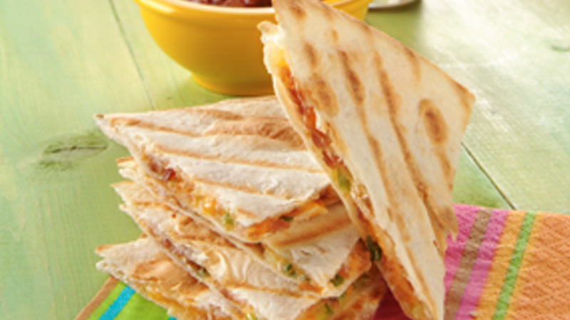 Quick Griddled Quesadillas