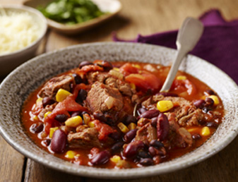 Slow Cooker Beef and Bean Chilli