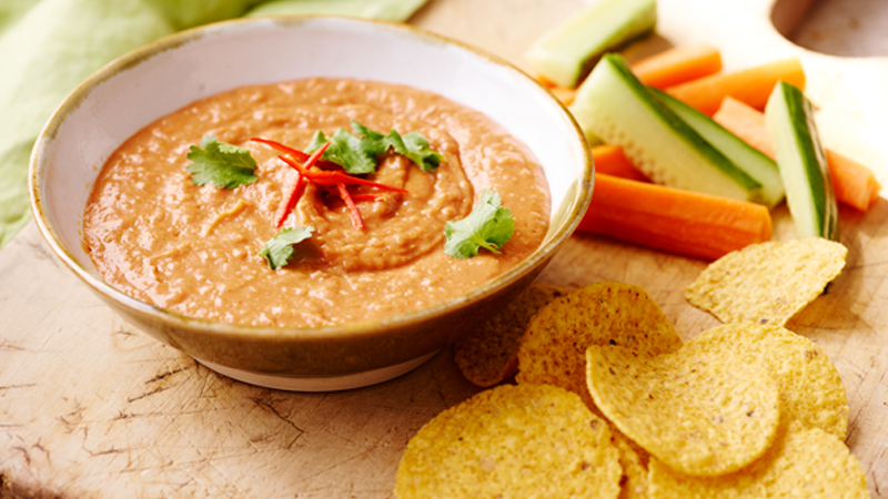 Speedy Mexican Hummus
