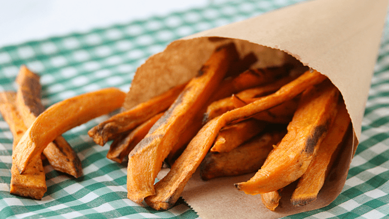 Spiced Vegan Sweet Potato Fries