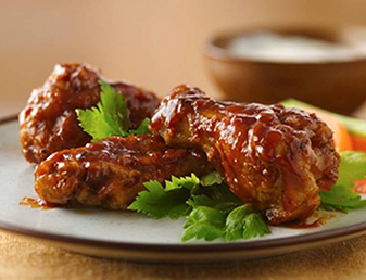 sticky chicken wings drumsticks