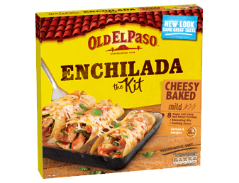 Mild cheesy baked enchilada kit